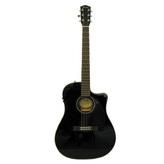 Электроакустическая гитара Fender CD-60CE BK эстрадная