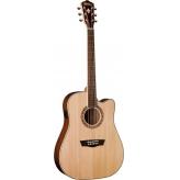 Электроакустическая гитара Washburn WD10SCE NS эстрадная