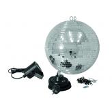 Зеркальный шар Eurolite Mirrorball set 30cm with LED spot