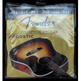 Струны для акустической гитары Fender PHOSPHOR BRONZE 60 CL