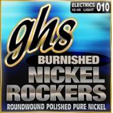 Струны для электрогитары GHS Strings Burnished Nickel Rockers